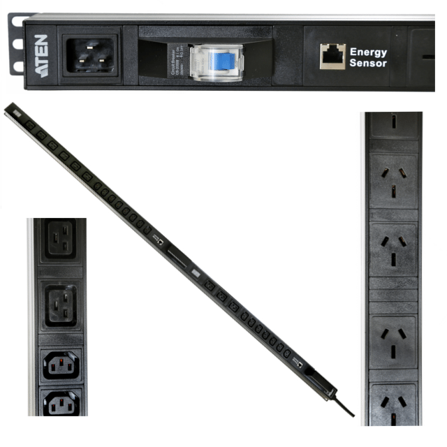 ATEN RACKMOUNT POWER RAILS