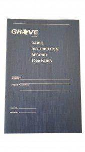 1000 PAIR RECORD BOOK