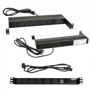 19 INCH RACKMOUNT POWER RAILS