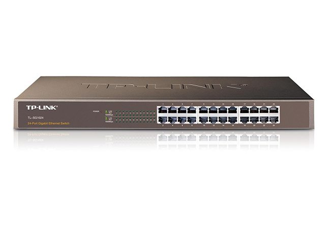 Switch 24 Port Gigabit Tp Link Sw Tlsg1024 Grove